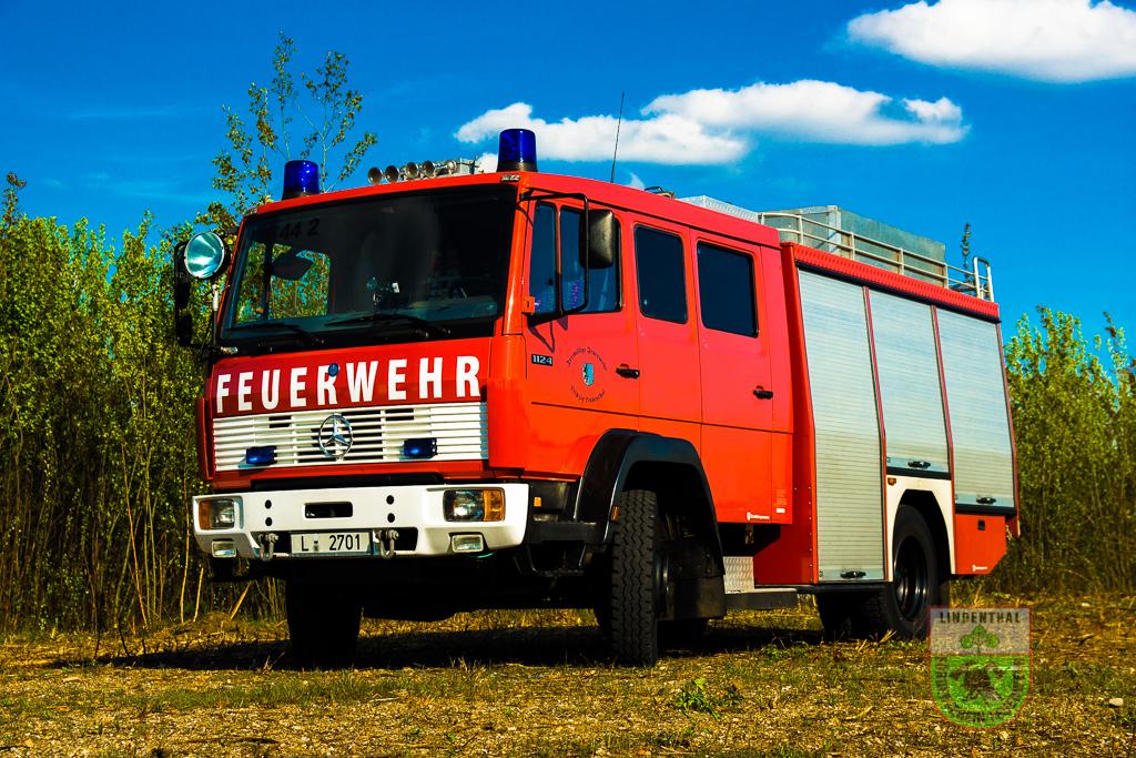 Hilfeleistung Tanklöschfahrzeug